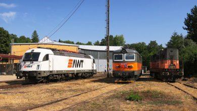 Photo of Nové Lokomotivní depo a Opravna železničních vozů v Lovosicích