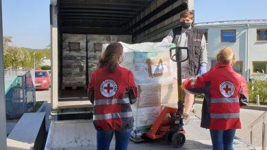 Photo of ESA logistika pomáhá distribuovat pomoc Červeného kříže