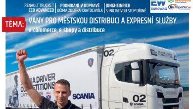 Magazín TRANSPORT a LOGISTIKA - Vydání 5-2019 - Obálka
