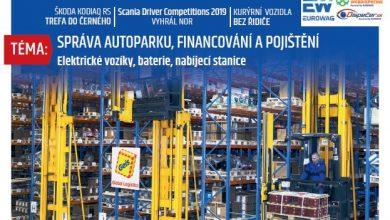 Magazín TRANSPORT a LOGISTIKA - Vydání 6-2019 - Obálka