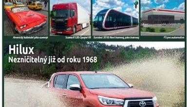 Magazín TRANSPORT a LOGISTIKA - Vydání 7/8-2018 - Obálka