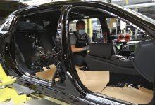 Výroba nového automobilu Mercedes-Benz