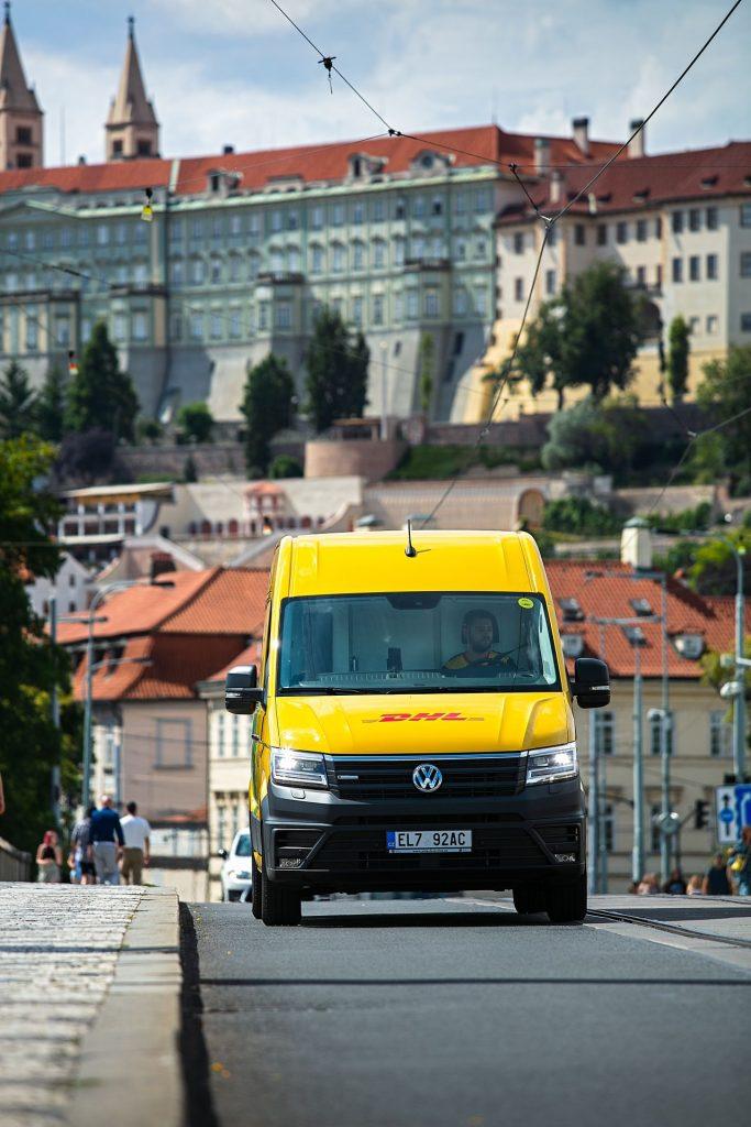 DHL Express jezdí s VW e-Crafter