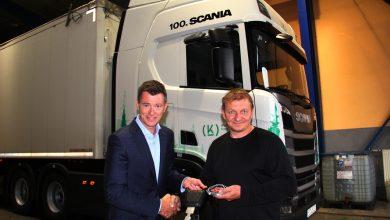 Photo of Kloboucká lesní si pořídila již 100. vozidlo značky Scania