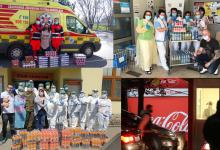 Photo of Coca-Cola HBC darovala do první linie nápoje za 26,2 milionu korun a její zaměstnanci se zapojili do trasování