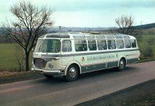 Photo of Obrazem: pět legendárních autobusů jako připomínka 125letého výročí výroby ve Vysokém Mýtě