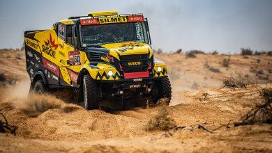 Iveco Martina Macíka v 10. etapě Dakar 2021