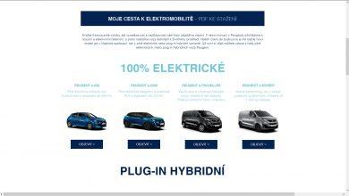 Photo of Peugeot spustil portál specializovaný na elektromobilitu PeugeotElektromobilita.cz