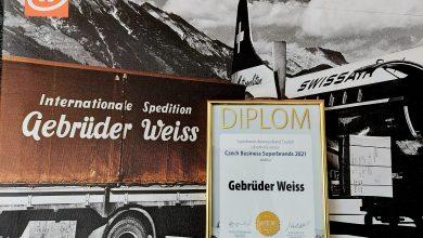 Photo of Gebrüder Weiss získal titul Business Superbrands 2021