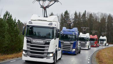 """Photo of Scania dodá dalších sedm """"tramvají"""" pro elektrifikované dálnice v Německu"""