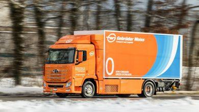 Photo of Gebrüder Weiss převzal svůj první truck poháněný vodíkem