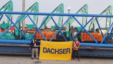 Photo of Dachser přepravil 23 m dlouhý výložník z Německa do Indonésie