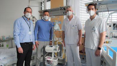 Photo of ESA logistika darovala kladenské nemocnici 150 000 Kč na nové přístroje pro nemocné s covidem