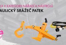 Photo of Novinka FERDUS: Hydraulický srážeč patek pro nákladní auta, zemědělské a EM stroje