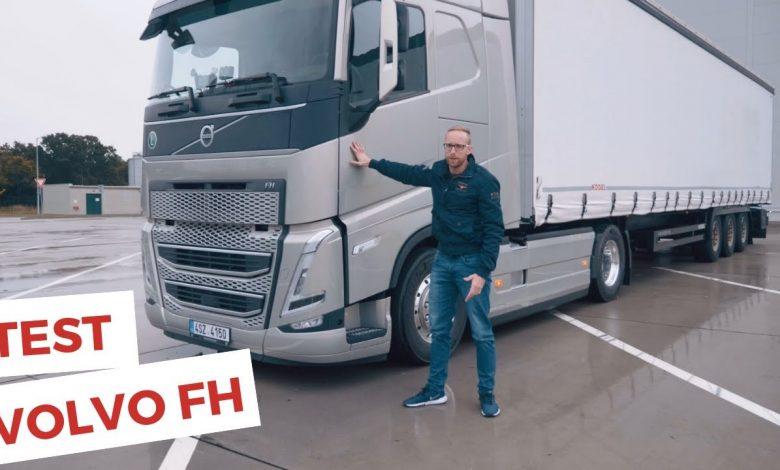 Videotest evoluce Volvo FH