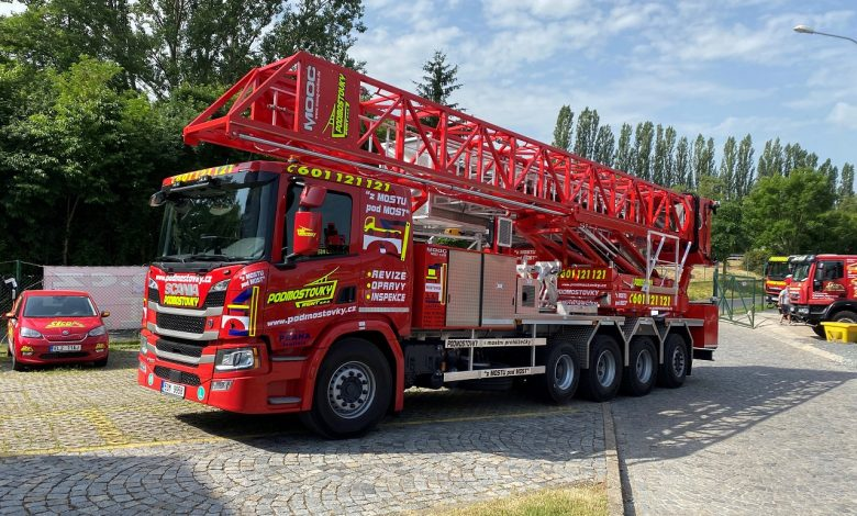 Scania pro opravu mostu